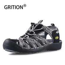 GRITION Women Sandals Fashion High Quality Shoes Outdoor Casual Ladies Summer Sandals Female Lightweight  Beach Sport Shoes 2020