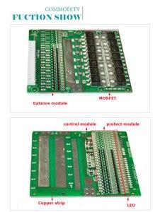 Image 3 - 19 S 60A versione S LiFePO4 BMS/PCM/PCB batteria protection board per 19 Packs 18650 Cellula di Batteria w/Balance w/Temp