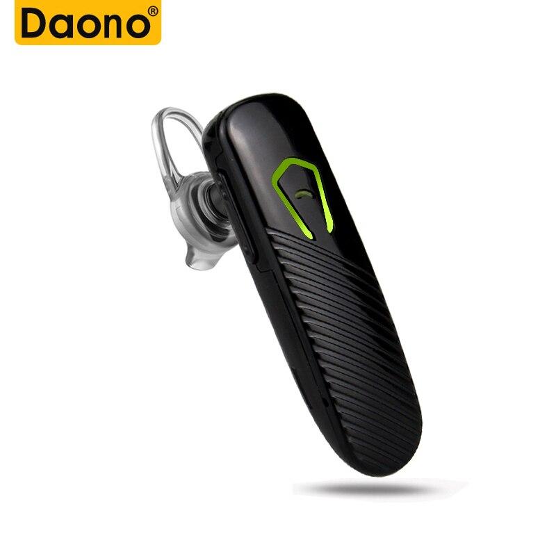 DAONO Mini inalámbrico en la oreja auricular Bluetooth Auriculares manos libres Bluetooth Estéreo Auriculares
