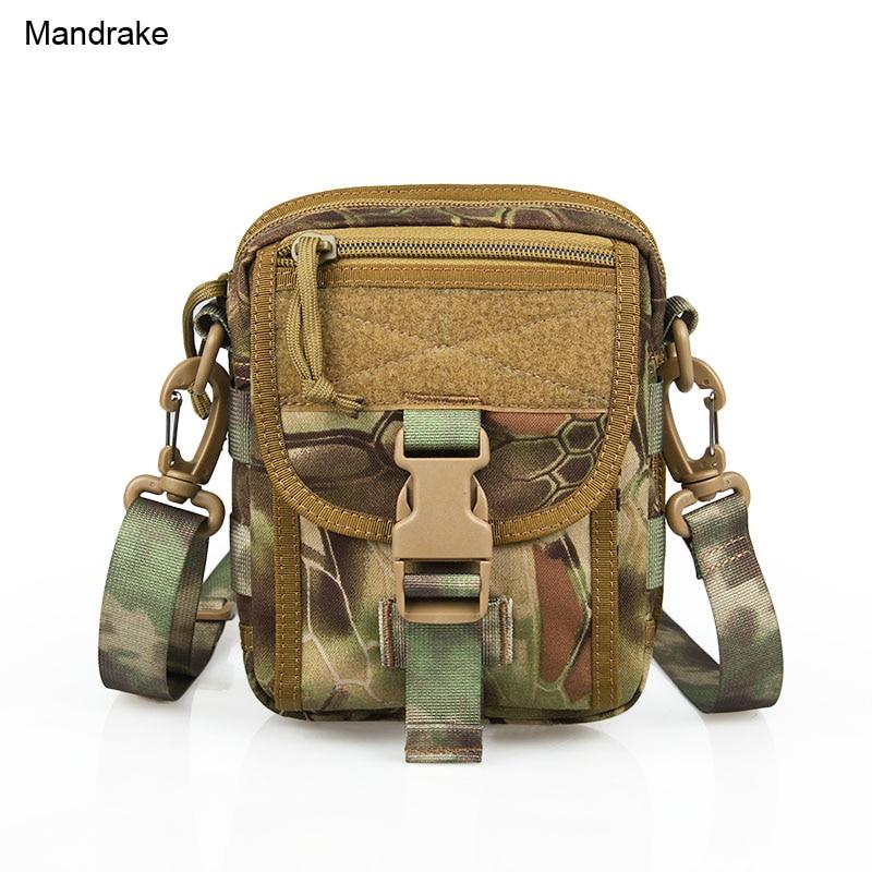 Militaire hoogwaardige Mandrake Typhon Color kleine jachttas 14.5x5x18cm 500D stoffen tas PP5-0049