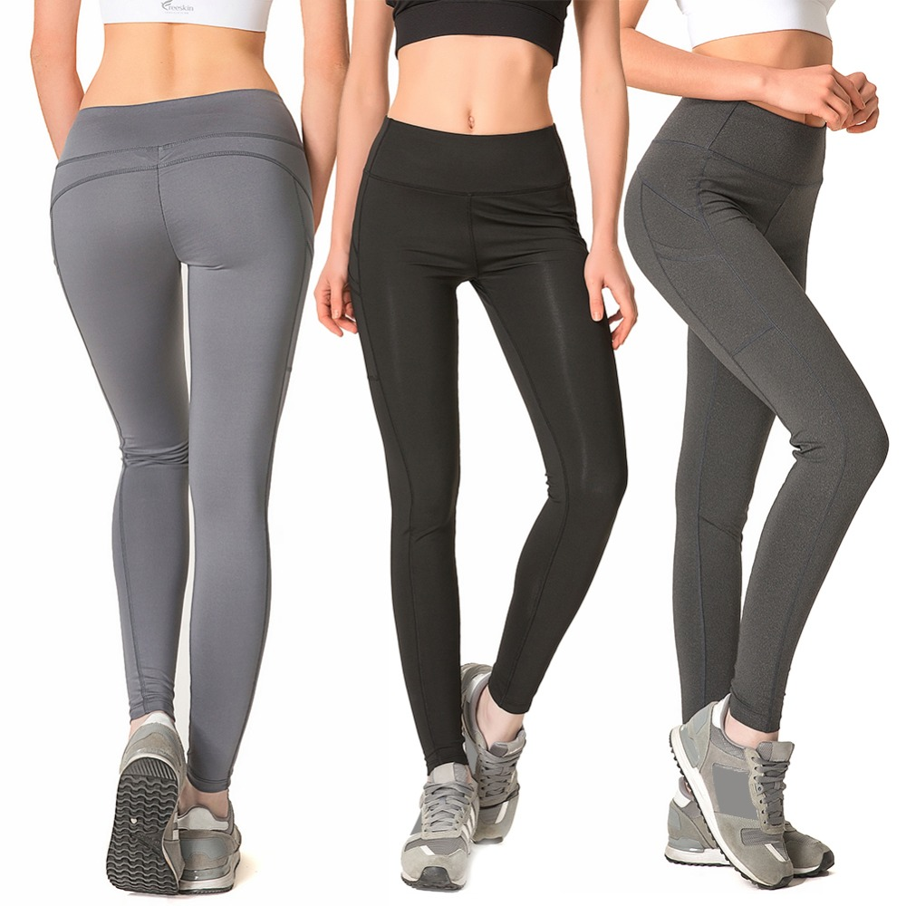 2ed79696ca4 Detail Feedback Questions about New Women Solid Color Seamless High Elastic  Tight Yoga Pants Compression Running Gym Fitness Workout Leggings Sports ...