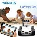 4CH Mini i - Spy RC tanque controlado por IPhone / iPad / Android / IOS Wifi câmera brinquedos de controle remoto 777 - 270 melhor presente