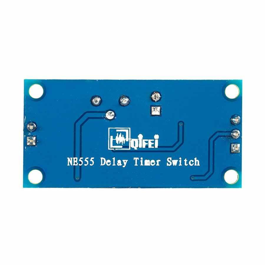 2 предмета DC 5 V-12 V реле за запозданиевремени щит таймер NE555 модуль автоматического включения света от 0 до 150 во-вторых Регулируемый хорошо работающий