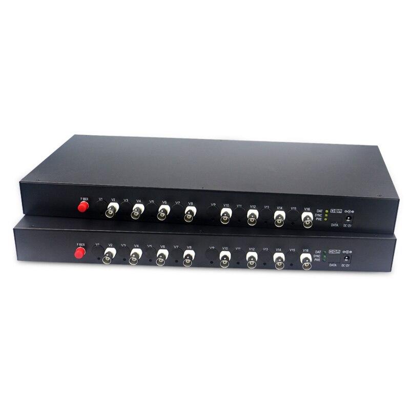 1080p cvi ahd fiber optic to coaxial converter AHD CVI TVI Fiber optical converter 8 CH video fiber optic transmitter
