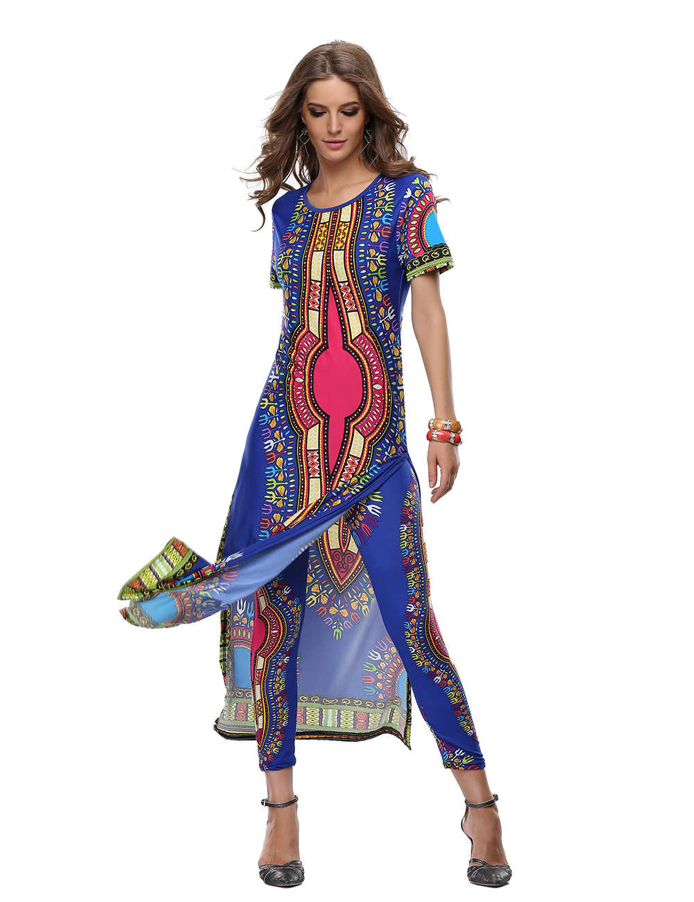 african dashiki dresses for women dashiki dress summer. Black Bedroom Furniture Sets. Home Design Ideas