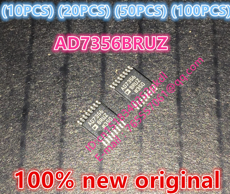 (10PCS) (20PCS) (50PCS) (100PCS) 100%new original AD7356BRUZ AD7356 TSSOP16 analog to digital converter chip 10pcs 20pcs 50pcs 100pcs 100% new original tb9003fg tb9003f6 sop36 automotive ic chip