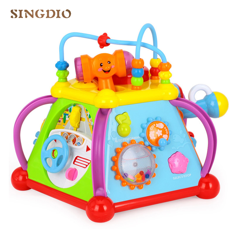 2018 New Design Early Learn Education Baby Multifunctional Game Toys Mini World Intelligence Educational Toys Infant Toy Gifts