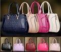 Best Selling New Arrival Fashion Big PU Patent Women Bags Crocodile Grain Lady Fashion Shoulder Bags Girl Handbags H102