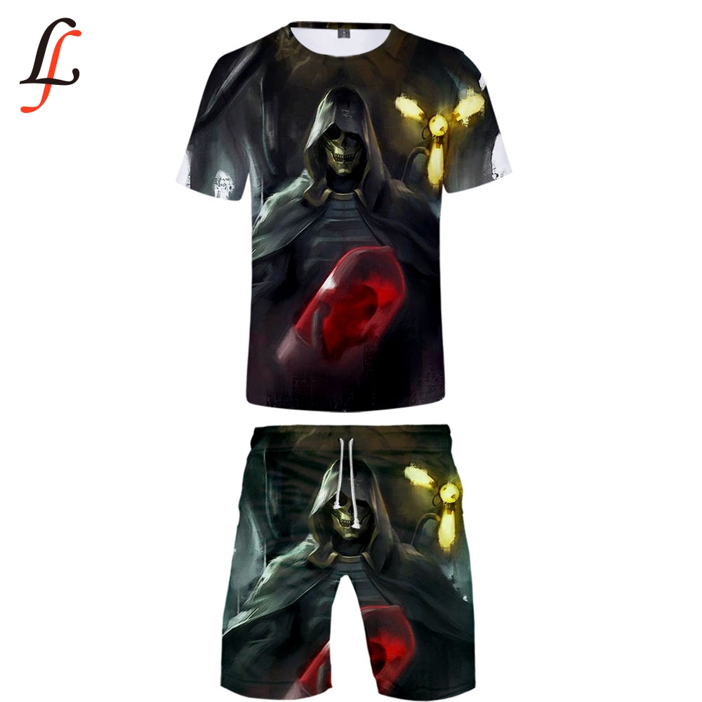 2019 Death Stranding T Shirt Set Harajuku Tshirt And Shorts Men Clothes Streetwear Harajuku Shorts Sleeve K Pop Streets Hot Sale