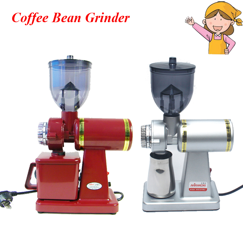 Electric Commercial High Quality Coffee Beans Grinding Machine Household Coffee Mill Black/Silver/Red M520-AElectric Commercial High Quality Coffee Beans Grinding Machine Household Coffee Mill Black/Silver/Red M520-A