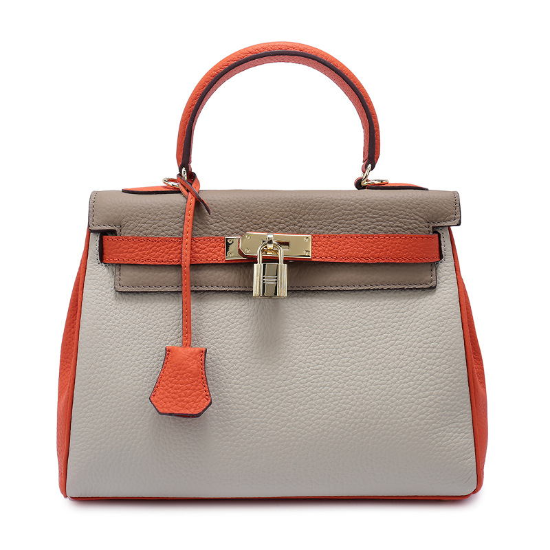 Top-handle Bags Handbags Women Famous Brands Women Evening Bags Sac A Main Femme De Marque Genuine Leather Handbags Bag 2016 fashion women alligator top handle wristlets bag female dress handbag sac a main femme de marque luxe cuir shoulder bags