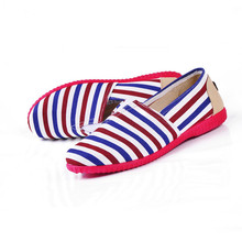 Hot Sale New Fashion 2016 Summer Striped Woman Flats Comfortable Navy Style Casual Shoes Wild Flat Shoes Free Shipping ST365