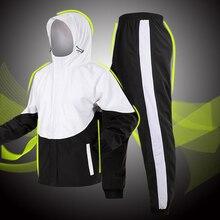 где купить Outdoor Men Women Raincoat Motorcycle Rain Pants Lightweight Waterproof Suit Adult Raincoat Riding Impermeable Rainwear Fashion по лучшей цене