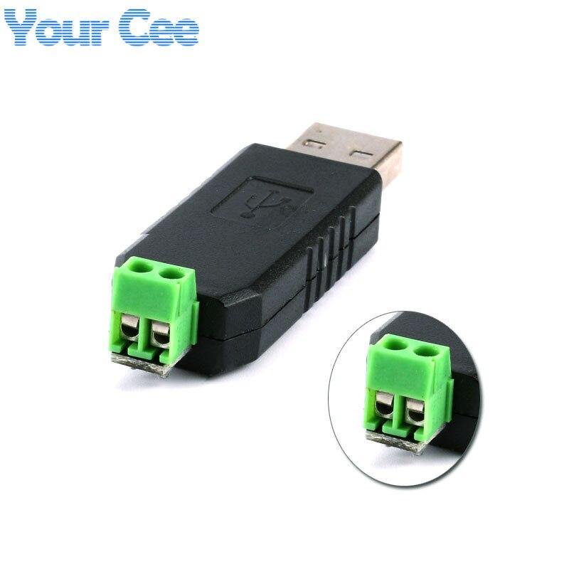 2 pcs USB to RS485 485 Converter Adapter Support Win7 XP Vista Linux USB 2.0 Standard
