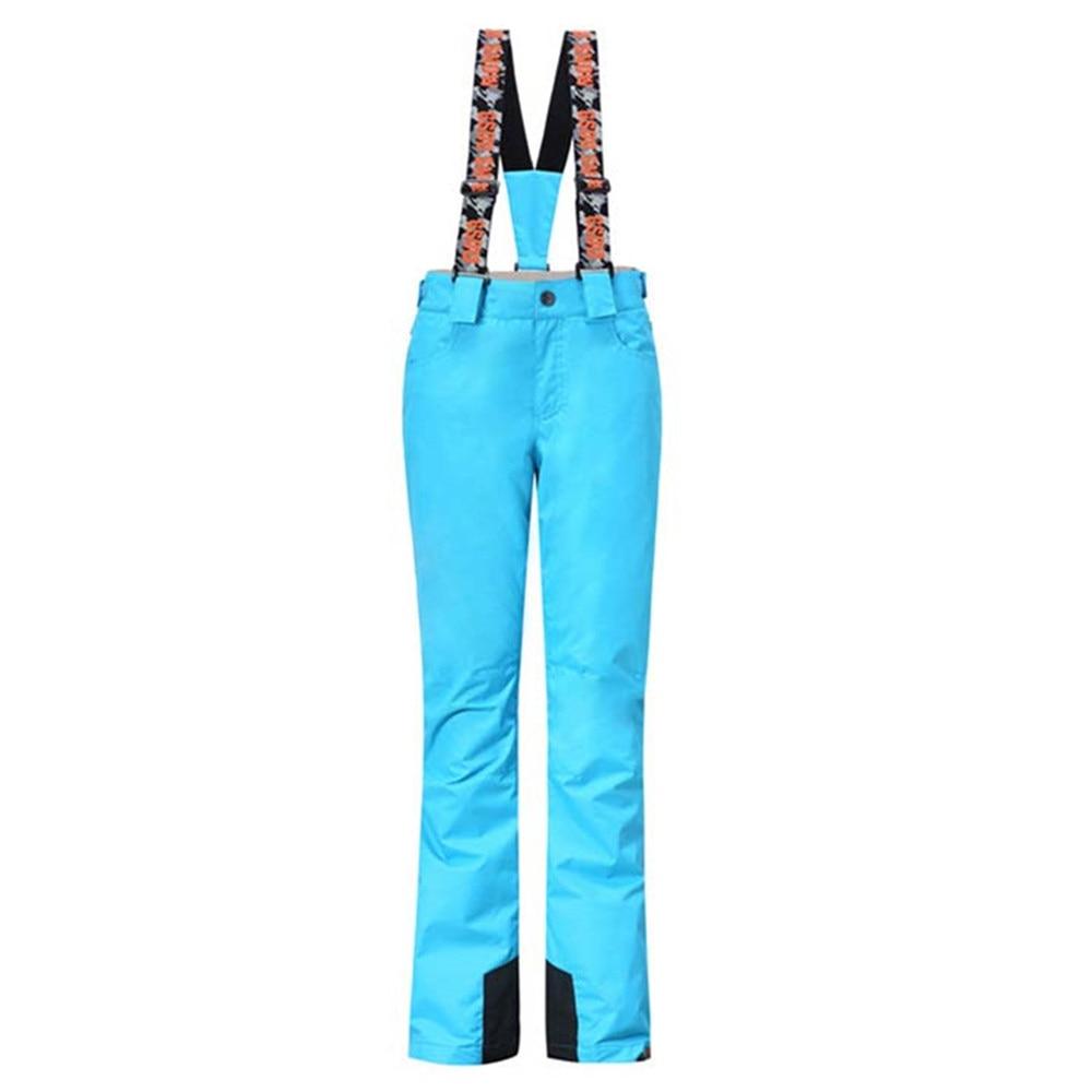 Gsou Neige Pantalons de Ski de Marque Femmes Étanche Snowboard Pantalon de Ski Pantalon Respirant En Plein Air Ski Hiver Neige Vêtements Vente Chaude