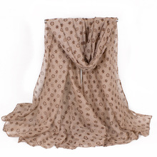 Women Scarf Winter Fashion Brand Famous Hexagonal Flower Thick Shawls And Blanket For