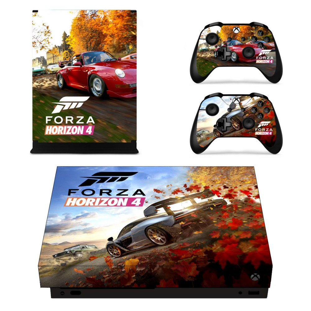 for xbox one x console and controller sticker vinyl decal. Black Bedroom Furniture Sets. Home Design Ideas