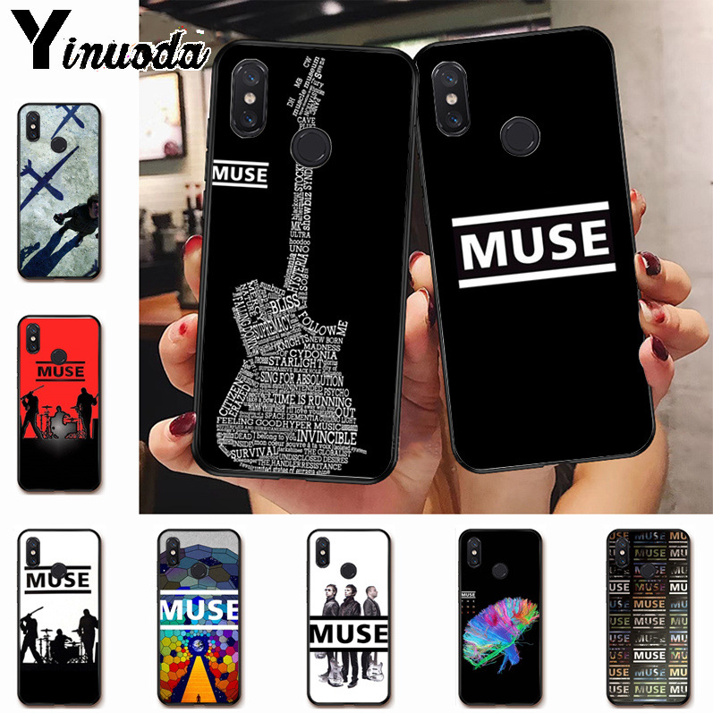 Ynuoda Muse Band Lyrics Music Songs Hot Fashion Fun Dynamic phone case for xiaomi mi 8se 6 note2 note3 redmi 5 plus note5 cover image