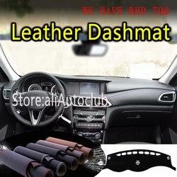 Dla Infiniti Q30 QX30 2015 2016 2017 2018 2019 skóra Dashmat pokrywa deski rozdzielczej Dash dywan niestandardowy samochód stylizacji parasol LHD + RHD