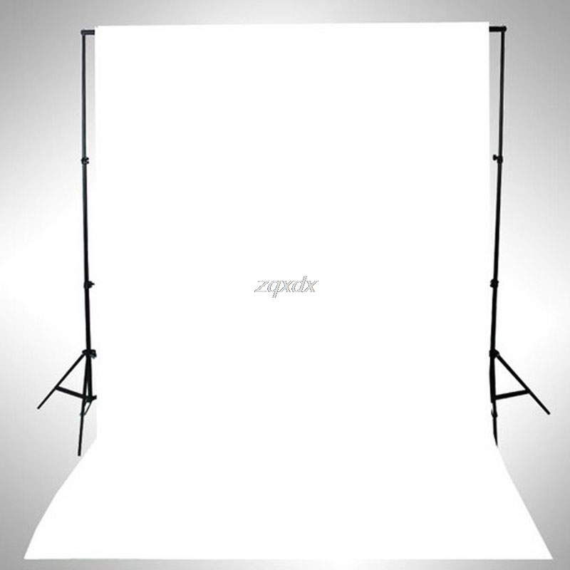 SIV WHITE Thin Vinyl Photography Backdrop Background Studio Photo Prop Durable 3x5ft Z17 Drop ship shanny new year backdrop vinyl custom photography backdrops prop photo studio background xn281