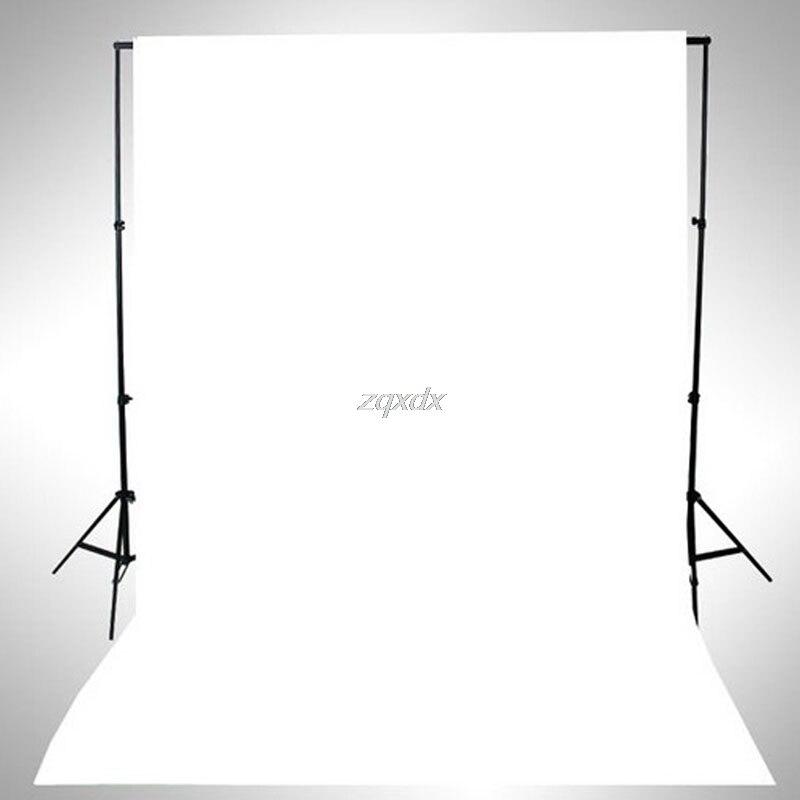 Siv blanco vinilo delgada fotografía telón de fondo Fondos Studio photo prop durable 3x5ft Z17 nave de la gota