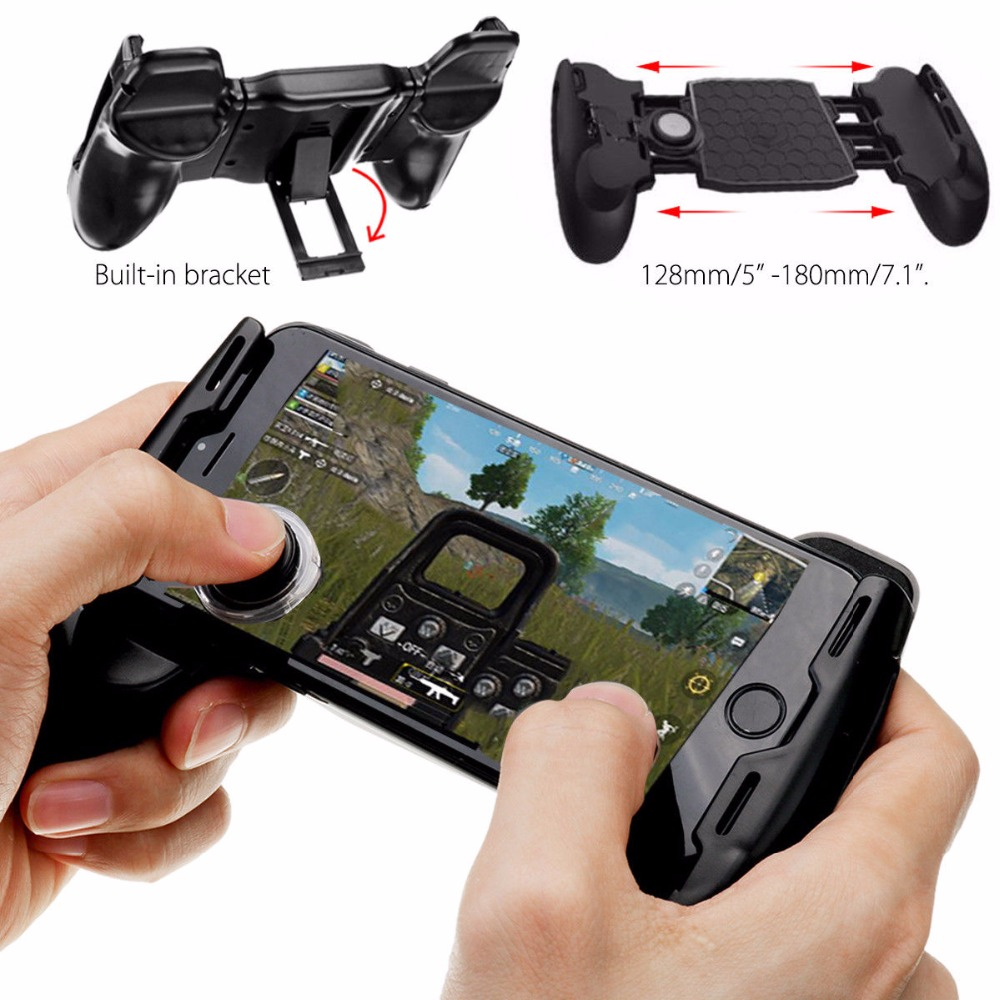 Us 727 25 Offr1 L1 Pubg Gamepad 4 In 1 Shooter Controller Trigger Fire Button Aim Key Buttons For Mobile Phone L1r1 Shooter Gamepads Joystick In