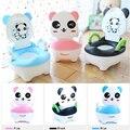 Panda Portátil Baby Kid Crianças Criança Cadeirinha Higiênico Treinamento Potty Fezes de Plástico Barato