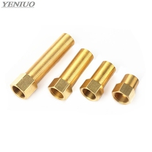 Brass Fitting 1/2 BSP Male to Female change Coupler straight in Connector Adapter 28mm 40mm 50mm 70mm 100mm length