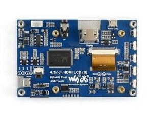Image 4 - 4,3 дюймовый емкостный сенсорный экран IPS LCD HDMI интерфейс поддерживает Raspberry Pi BB Черный Банан Pi Multi mini PCs Multi Systems и т. д.