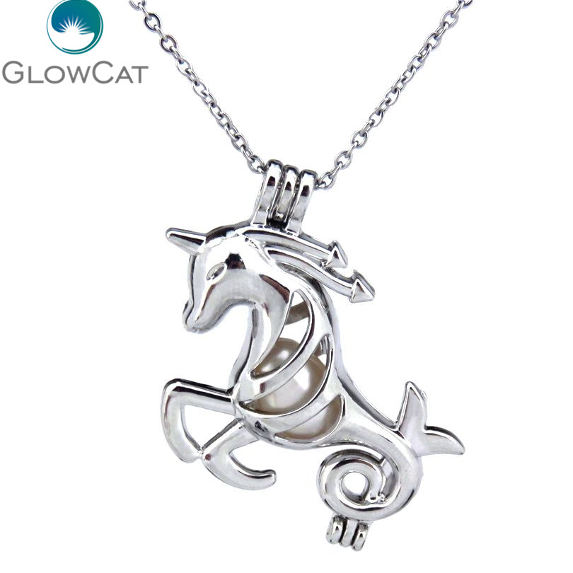 Design Pearl Cages for Women and Girls Dolphin Lockets Pendants for Pearl Jewelry Sterling Silver
