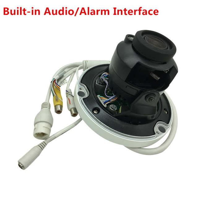 US $83 2 35% OFF|Dahua IPC HDBW4631R VFAS 6Mp IP camera 2 7 13 5mm Manual  zoom lens with SD card slot Audio interface IR50M poe camera-in  Surveillance