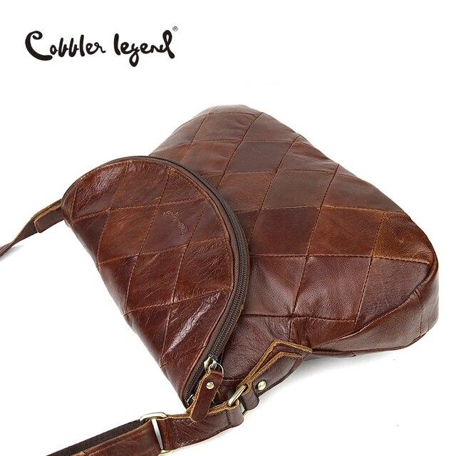 Cobbler Legend Brand Designer 2016 New Women's Crossbody Bag Female Handbags Vintage Shoulder Bags Ladies Genuine Leather Bag