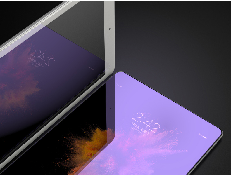 iPad Pro 10.5 Screen Protector 9H Tempered Glass Blue Light UV Filter HD Clatity