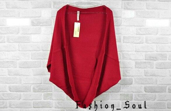 Aliexpress.com : Buy Women cardigan open Jacket batwing sleeve ...