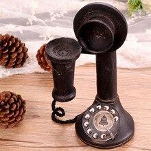 Бар стиль украшения дома ретро мобильный телефон ностальгические ремесло ювелирные изделия
