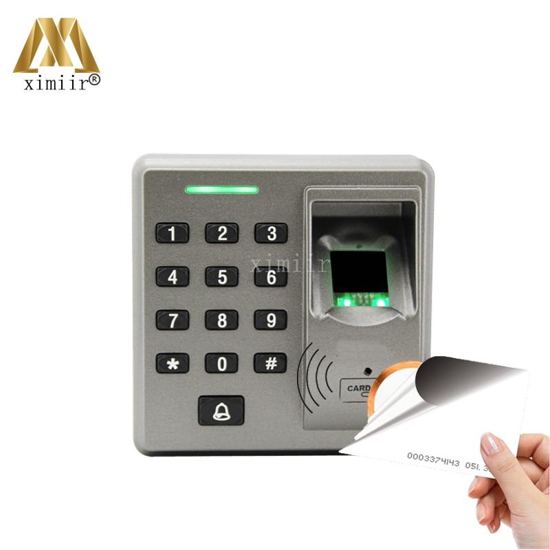 FR1300 Fingerprint Reader Exit Reader For F18, F2 And F22 Access Control System RS485 Fingerprint And RFID Card Reader ZK FR1300 biometric fingerprint access controller tcp ip fingerprint door access control reader