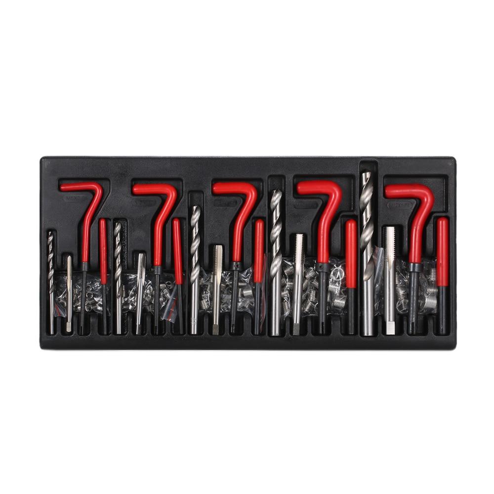 Kit di Riparazione filo 131PCS Helicoil Tipo di Kit di Riparazione Filo-in Kit per candele fai da te da Casa e giardino su  Gruppo 3