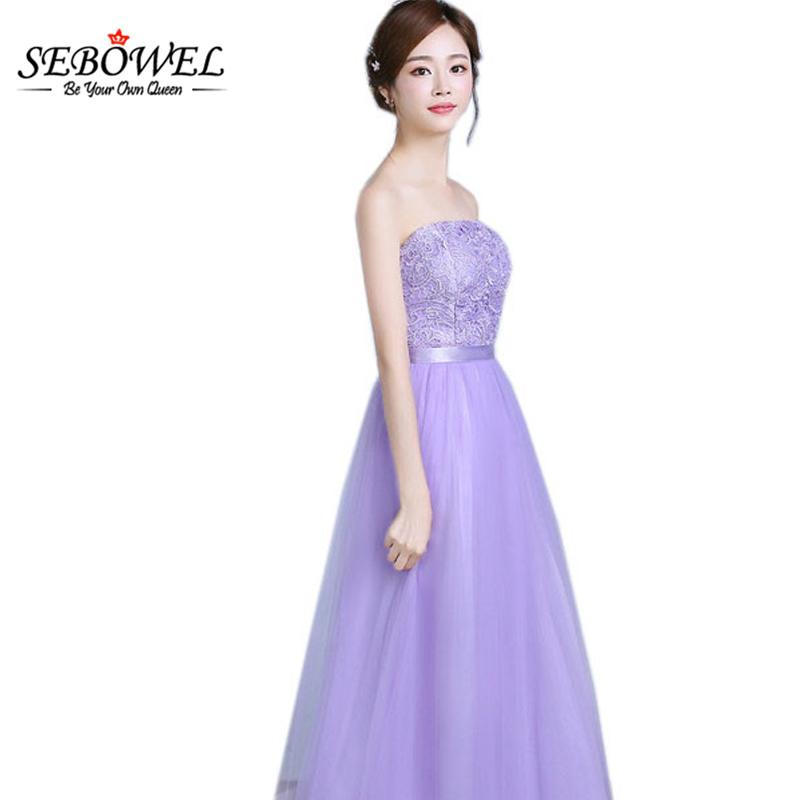 Online Get Cheap Luz Púrpura Dama De Honor Vestidos Formales ...