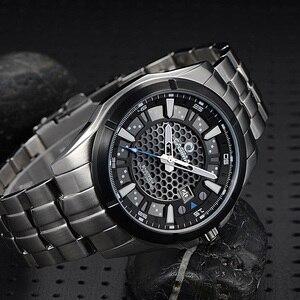 Image 5 - レロジオmasculino casimaミリタリークォーツ腕時計メンズ太陽エネルギー充電サファイア腕時計カレンダー時計男性saat montreオム