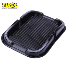 TIROL Car Anti Slip Pad Rubber Mobile Sticky Stick Dashboard Phone Shelf Non Slip Mat For GPS MP3 Car DVR Non Slip Mat Holder sz