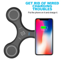 5 In 1 Qi Wireless Charger 5V 2 1A QC 2 0 Quick Charge Charging For