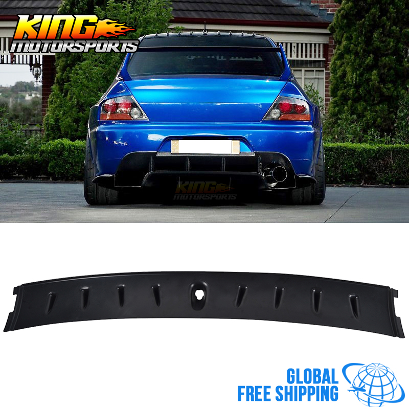 For 03-08 Mitsubishi Lancer EVO 8 9 ABS Shark Fin Roof Vane Spoiler Wing Global Free Shipping Worldwide купить в Москве 2019
