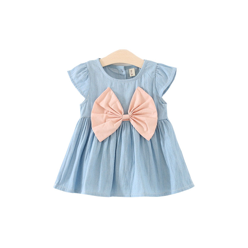 ab84f8101 BibiCola Baby Girl Dress Toddler Girl Jeans Dress Children Girl ...