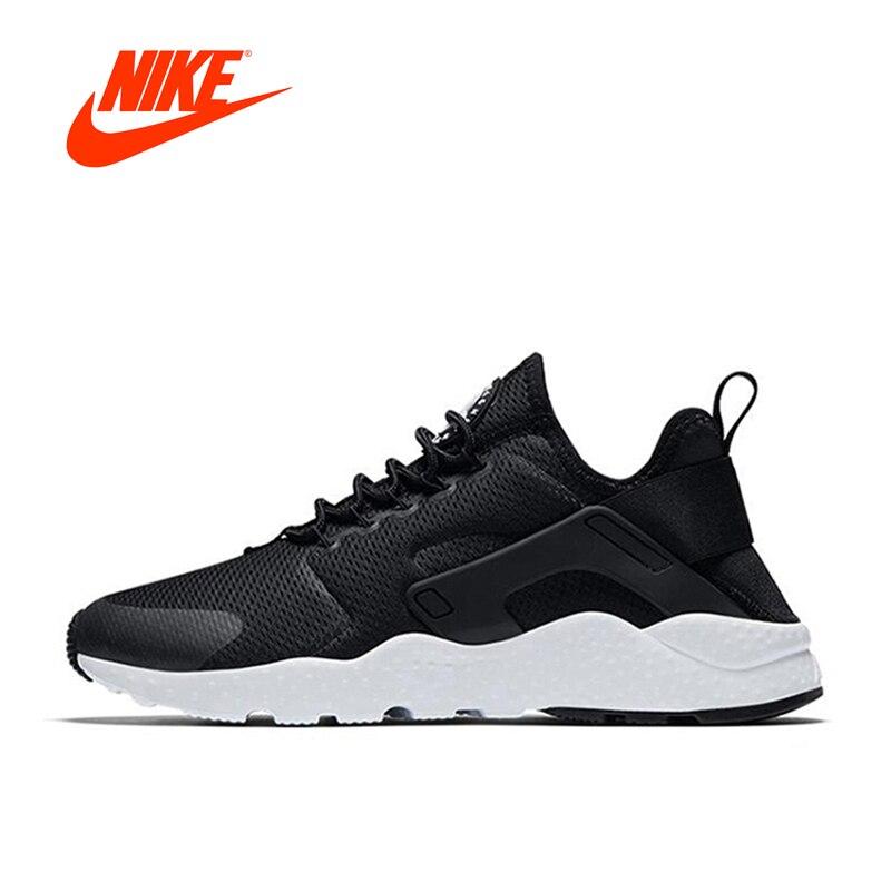 купить Nike Women Air Huarache Run New Arrival Authentic Women's Breathable Running Shoes Sports Sneakers 819151-008 по цене 5167.81 рублей