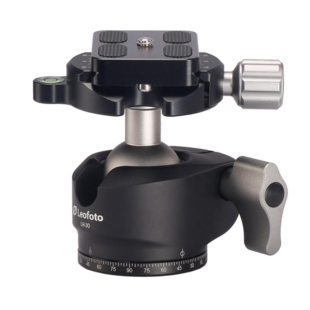 Aluminum Alloy Camera Tripod Ball Head Panoramic as RRS BH-30 Compact Ballhead