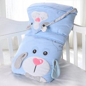 Outono inverno engrossar recém-nascido cobertor do bebê removível forro infantil swaddle bebe envelope envoltório bebê recém-nascido segurando cobertores