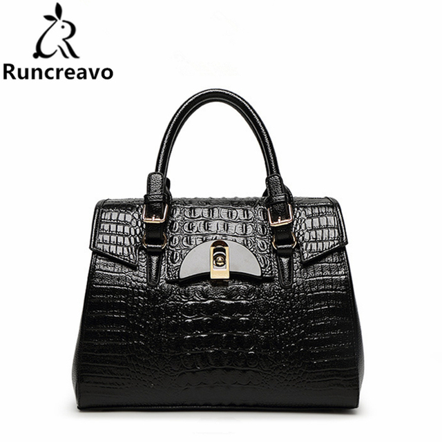 436dff725090 2018 Spring and summer new crocodile pattern handbags fashion ladies  package.