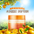 Water embellish surplus color orange fade out fine lines hydrating eye mask to stick to pouch