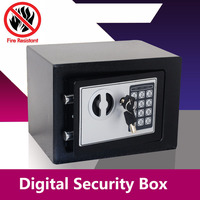 Digital Safe Box Small Household Mini Steel Safes Money Bank Safety Security Box Keep Cash Jewelry