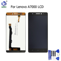 KEDY Compatible For Lenovo A7000 LCD Display Touch Screen Digitizer With Sensor Glass Assembly Black Color